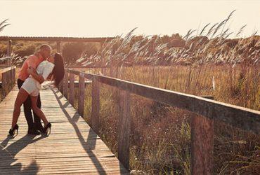 Boda de Dani y Cristina en la playa de Canet