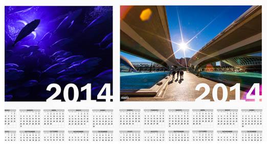 Consigue el nuevo calendario 2014