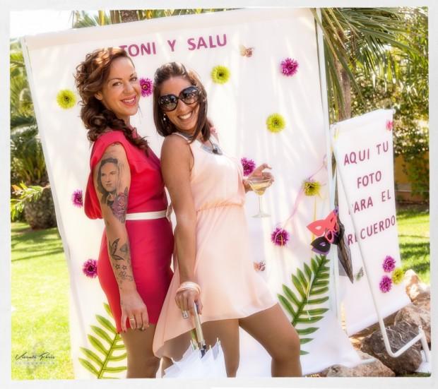 Photocall Salu y Toni888
