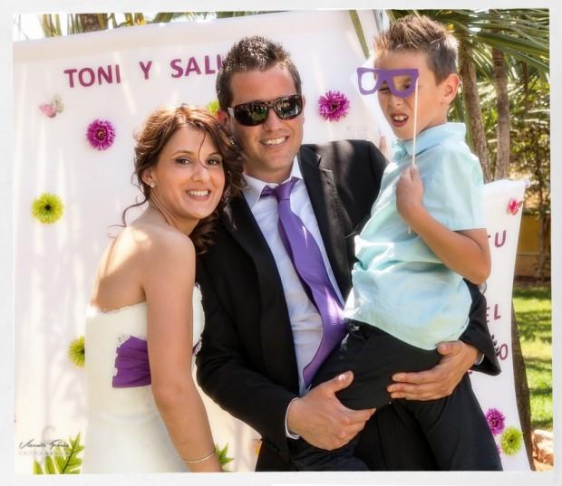 Photocall Salu y Toni907