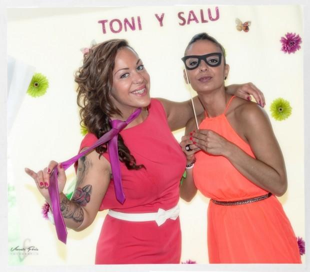 Photocall Salu y Toni909