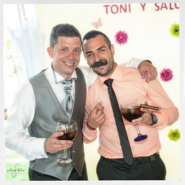 Photocall Salu y Toni917