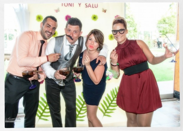 Photocall Salu y Toni918