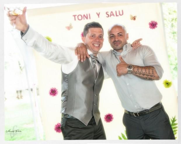 Photocall Salu y Toni925
