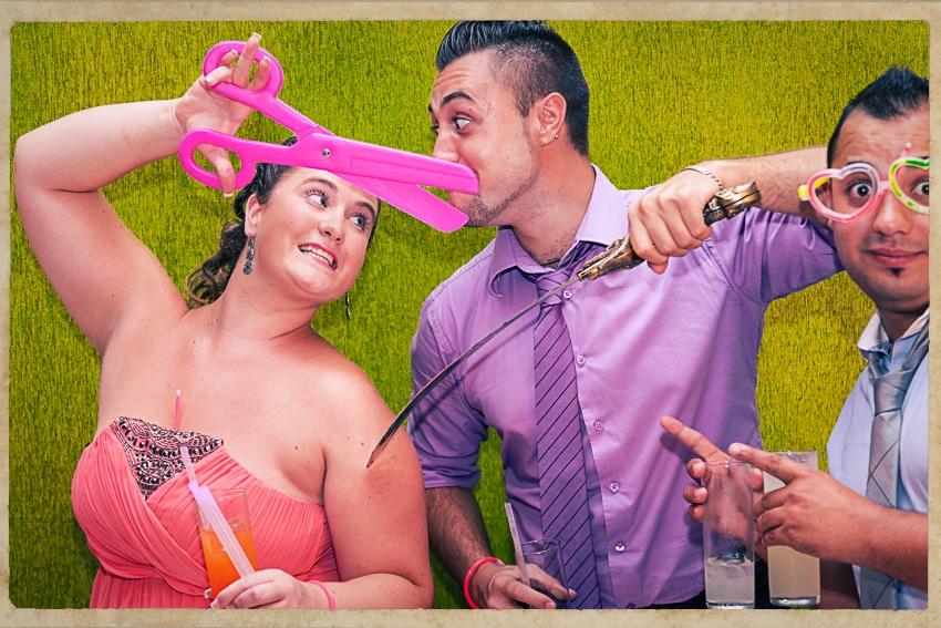 Photocall Silvia y Alejandro0774