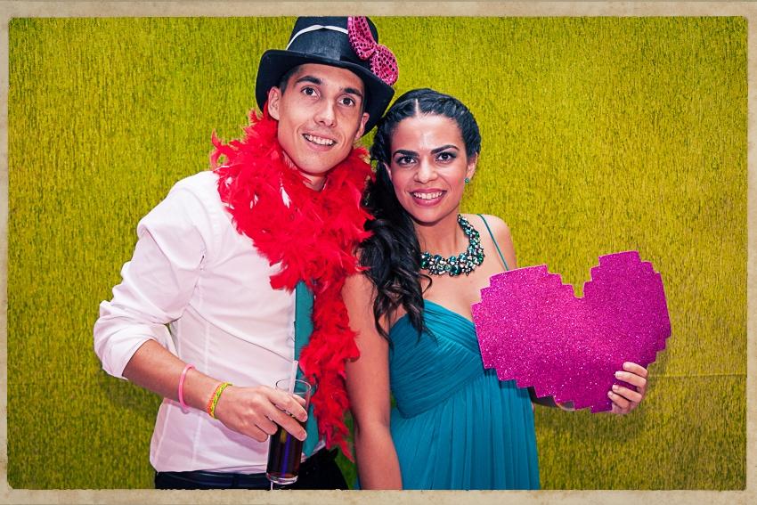 Photocall Silvia y Alejandro0775