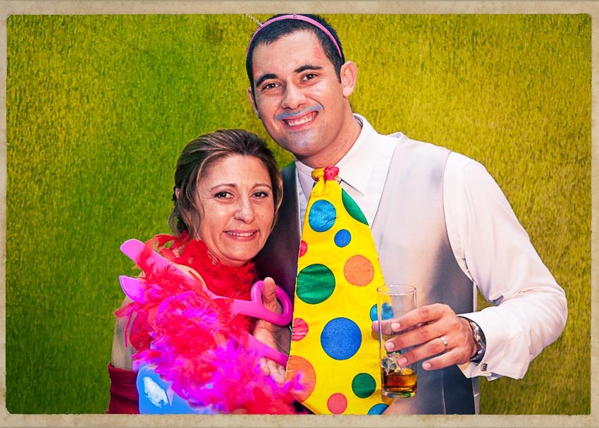 Photocall Silvia y Alejandro0819
