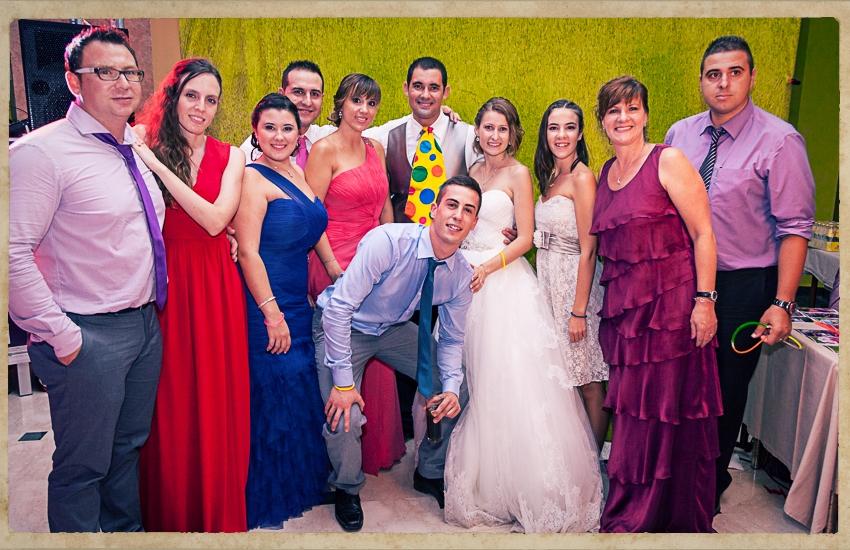 Photocall Silvia y Alejandro0837