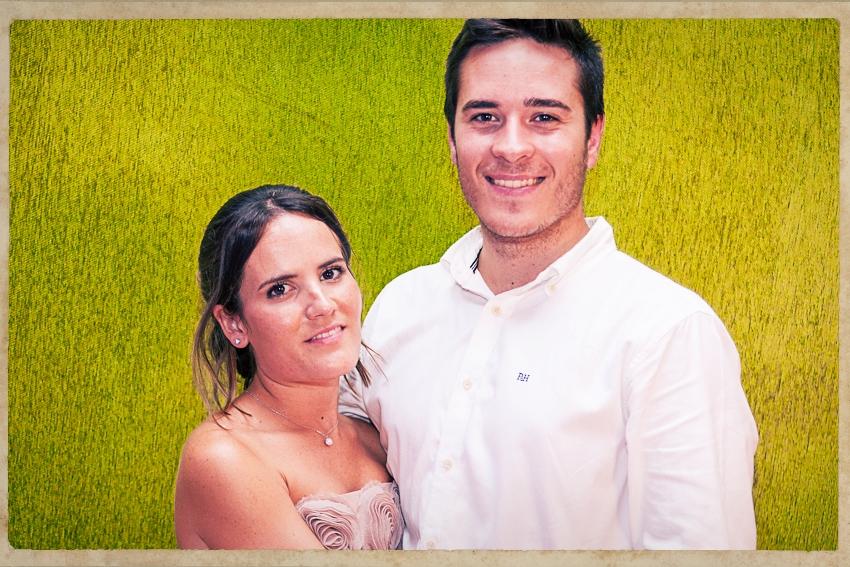 Photocall Silvia y Alejandro0844