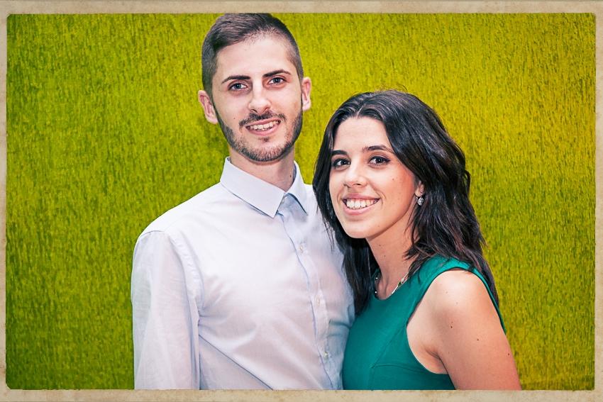 Photocall Silvia y Alejandro0845