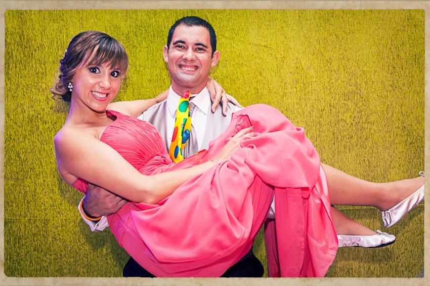 Photocall Silvia y Alejandro0850
