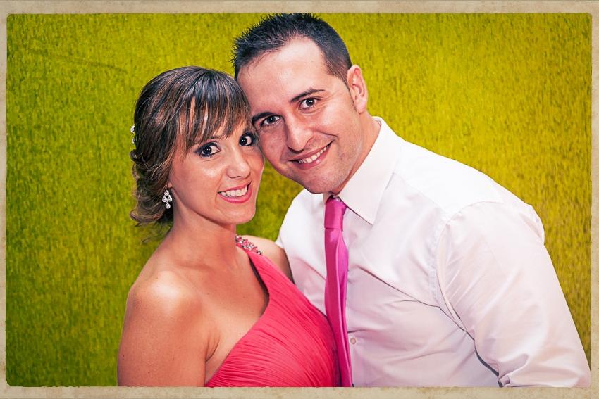 Photocall Silvia y Alejandro0856