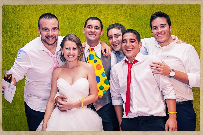 Photocall Silvia y Alejandro0861
