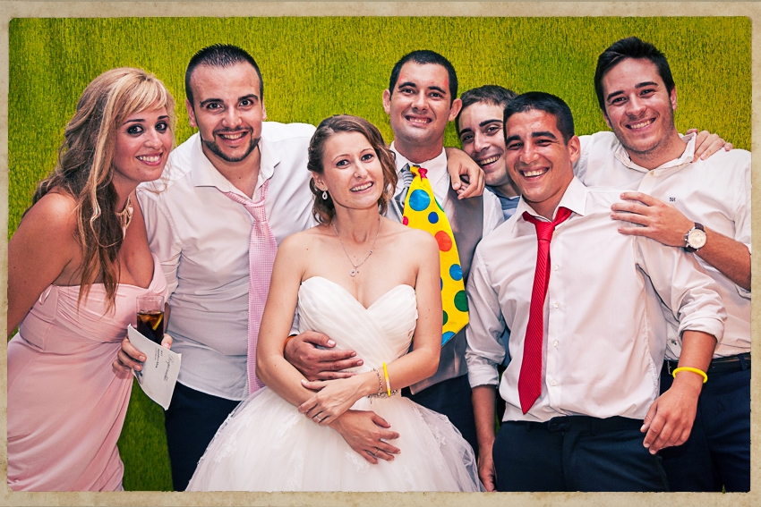 Photocall Silvia y Alejandro0862