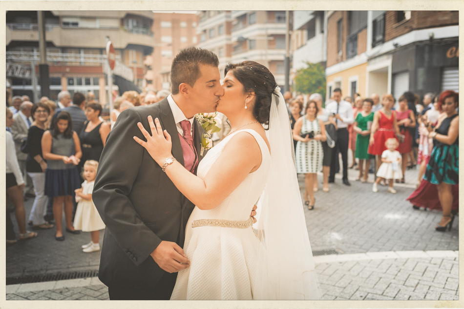 Photocall Amparo y Juanmi