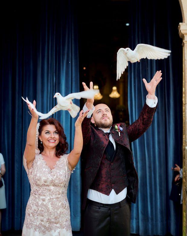 Fotógrafo boda valencia PALOMAS NOVIOS