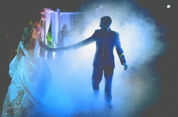Fotógrafo boda valencia DISCOMOBIL CON HUMO