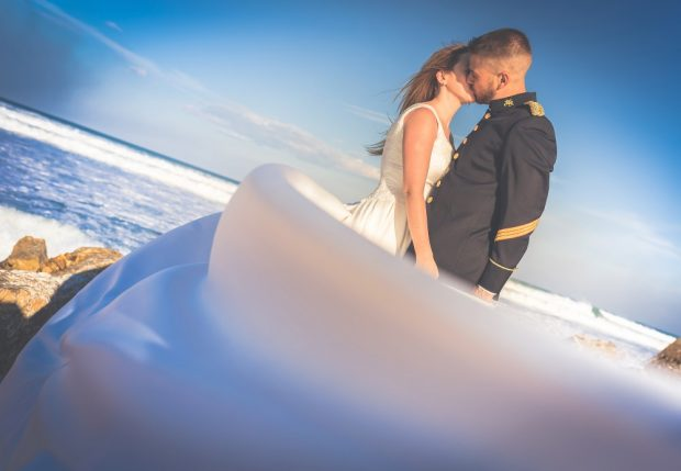 Fotógrafo boda valencia VELO Y UNIFORME MILITAR