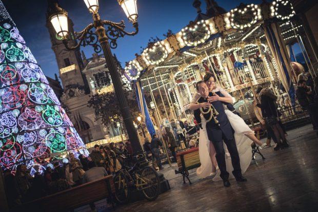Fotógrafo boda valencia REPORTAJE NAVIDAD
